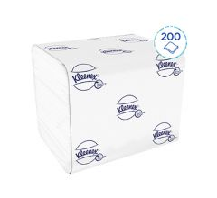 Kleenex® Toilettenpapier  - Einzelblattsystem 2-lagig